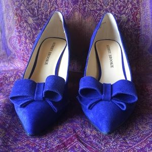 Royal Blue Audrey Brooke Heels